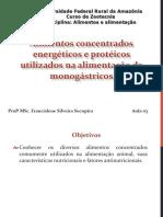 Aula 3 - Alimentos Concentrados Energéticos e Proteicos