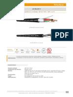 Caracteristicas Cable de Instrumentacion