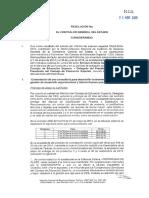 Informe de Contraloría - CES