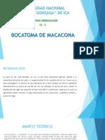 Bocatoma de Macacona