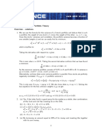 Exercises Chapt 3 Solutions