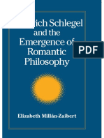 (Intersections_ Philosophy and Critical Theory) Elizabeth Millan-Zaibert - Friedrich Schlegel and the Emergence of Romantic Philosophy-State University of New York Press (2007).pdf