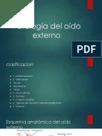 PATOLOGÍAS DE OÍDO MEDIO