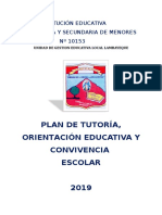 Plan de Trabajo Tutorial 2019