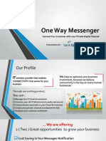 One Way Messenger for BJB