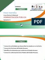 El Estado - Administracion Publica Sem1