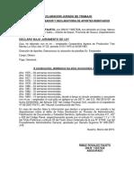 DECLARACIÓN JURADA DE TRABAJO ley.docx