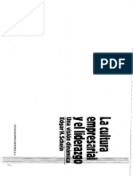 La cultura empresarial y el liderazgo - Schein (fragmento)