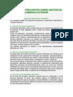 PREGUNTAS FRECUENTES SOBRE GESTIÓN DE COMERCIO EXTERIOR.docx