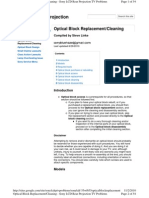 Sony Optical Block Replacement Instructions