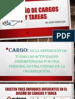 DISEÑO DE PUESTOS Y CARGOS