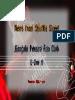 Gonçalo Pereira Fan Club - Webzine 1