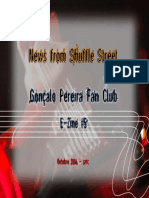 Gonçalo Pereira Fan Club - Webzine 5