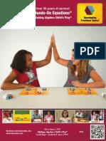 2019 Brochure Hands On-Equations