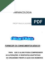 Aula I - Farmacologia Introdução
