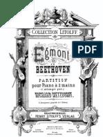 Beethoven- Egmont Overture Op084 Piano