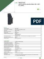 Zelio Control RM22TA33