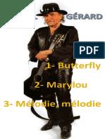 Danyel Gérard [3 Partitions]