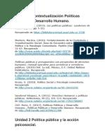 Unidades de politicas publicas