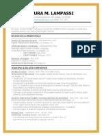 laura lampassi resume 4-4-19
