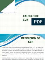 calculo de CVR