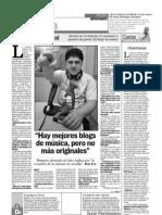 Entrevista Juan Ceñal