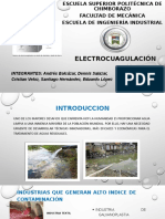 ELECTROCUAGULACIÓN