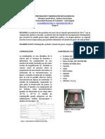 Preparación y Observación Metalografica Informe