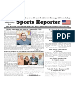 May 8 - 14, 2019  Sports Reporter