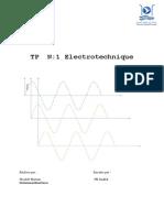 TP Electrotechnique