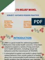 Ppt of Health Belief Model