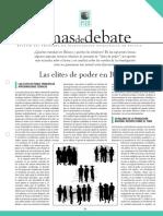 Elites de Poder en Bolivia. PIEB