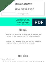 La Orientación Al Mercado en Cooperativas Citrícolas Españolas (1)