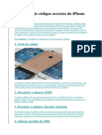Códigos Secretos Do iPhone
