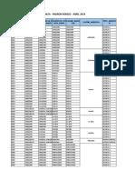 Cronograma Agencia Mar Abr 2019