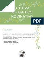 Sistema Alfabetico Nominativo