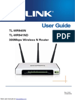 TP-Link Network Router TL-WR940N TL-WR941ND.pdf