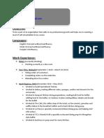 vidit resume new