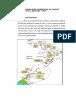 Disponibilidad Hídrica Superficial en Cuenca Drl Rio Caplina