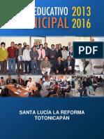 Desarrollo Santa Lucía La Reforma Totonicapán