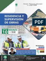 curso de Residencia y Supervison de Obras