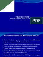 IDENTIFICACIÓN DEL VEHÍCULO AUTOMOTOR PARAGUAY