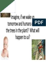 imagine if we wake up tomorrow and