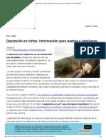 Depresión en Niños_ Información Para Padres y Familiares _ Faros HSJBCN