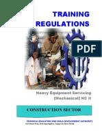 TR heavy equipment servicing