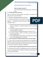Cuestionario de Derecho Sucesion 1