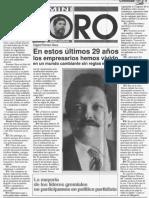 Edgard Romero Nava - En estos ultimos 29 años los empresarios hemos vivido un mundo cambiante sin reglas estables - Mini Foro Emilio Santana 09.07.1991