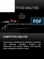 Competitve Analysist P2D018007