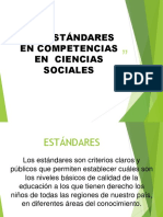 presentacion estandares  sociales