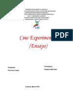 El Cine Experimental Fue Olvidado de La Industria Del Cine